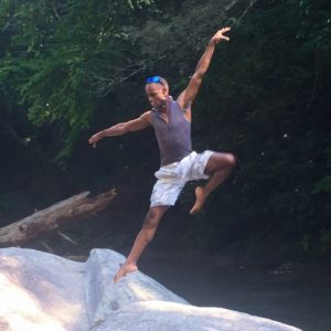 Nature Yoga Pose
