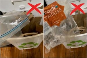 Items you can't recycle